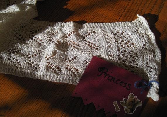 Princess Vintage Crochet Yarn Scarf by Beth Begany
