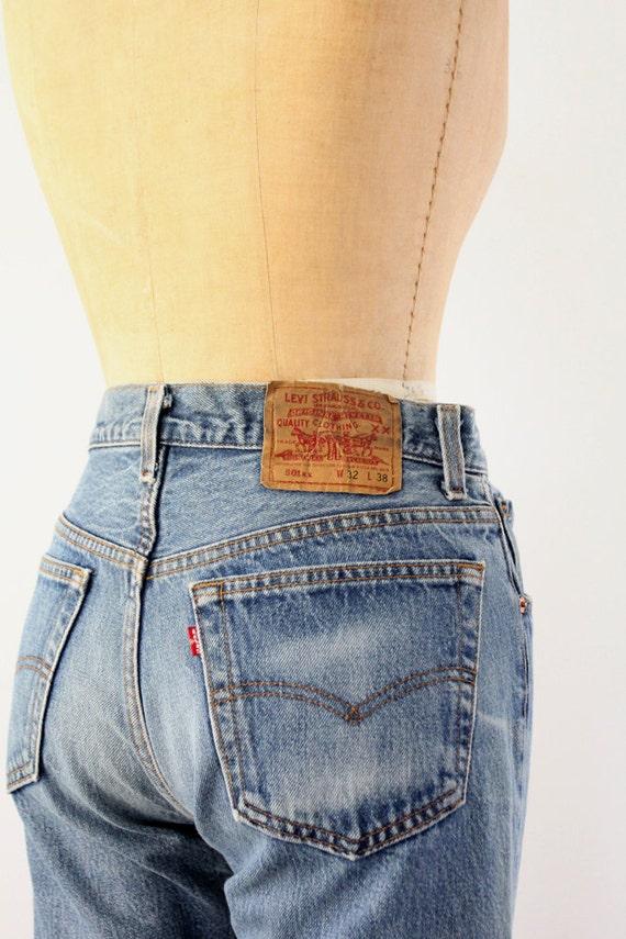 Vintage Levis 501xx Jeans / 1980s Denim / Waist 30