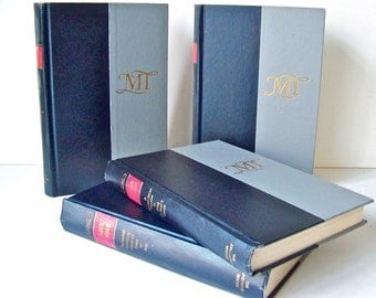 Vintage Mark Twain Collection Set of Four Samuel Clemens Prince and Pauper Puddnhead 1960s