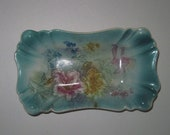 ON HOLD Vintage/Antique Porcelain Tray German Made