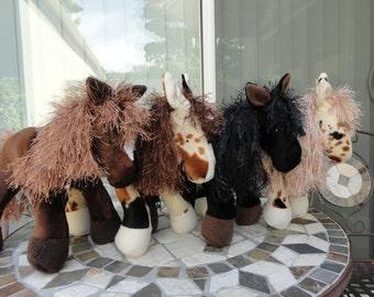 Stuffed horse, Wild West Ponies, plush horse