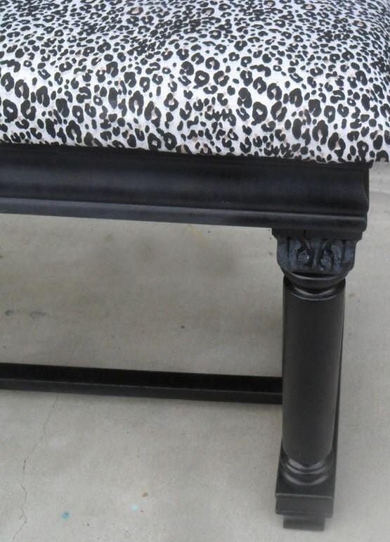 Antique Storage Bench Piano Bench