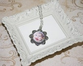 5 sets- Make your own photo pendant kit