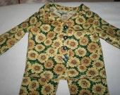 sunflower pajamas for american girl doll