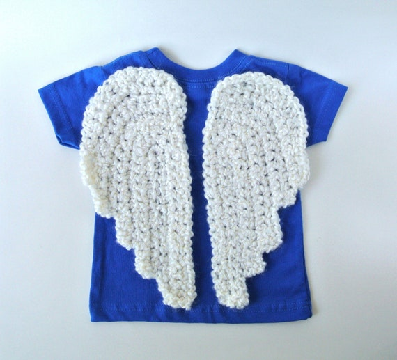 Crochet PATTERN Angel Wings Two Styles by SimplyCollectible