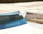 Beautiful Pair of Vintage Travel Souvenir Booklets..'Akershus Slott' and 'Stockholms Slott'..