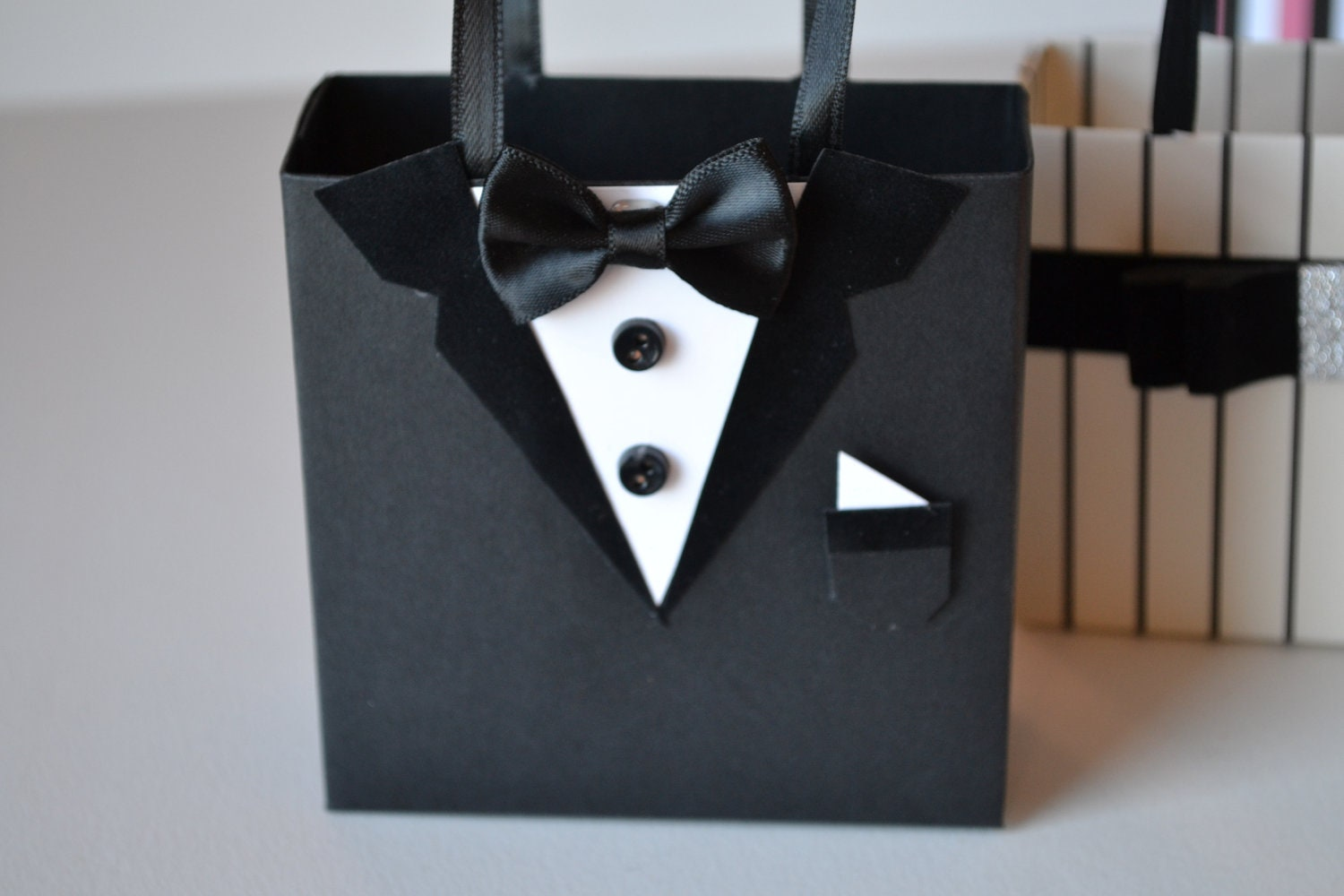 Tuxedo Party Gift Favor Bag Great For Wedding Favors Available