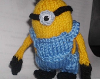 Minion Knitting Pattern Sold for Charity