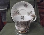 50% OFF-  Royal Albert cup and saucer - circa 1947 plus-  875
