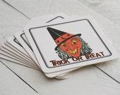 Halloween Coasters-Vintage/Retro -Set of 8