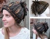 Dreadlocks Ponytail Crochet Hat - Fun, Funky, Cool