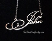 Pretty Little Liars Script Style Name Necklace, Customized with ANY NAME