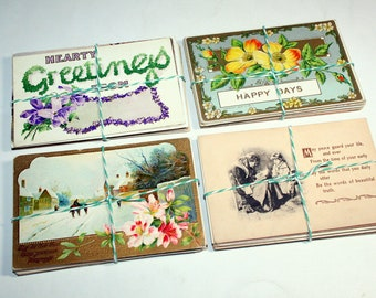SALE 25 Vintage Postcard Mix
