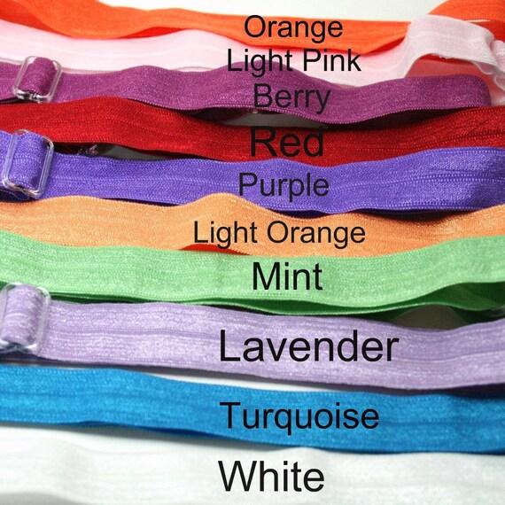 Adjustable Fold Over Elastic (FOE) Headband / Newborn headband / adult headband / girl headband - You Choose Color