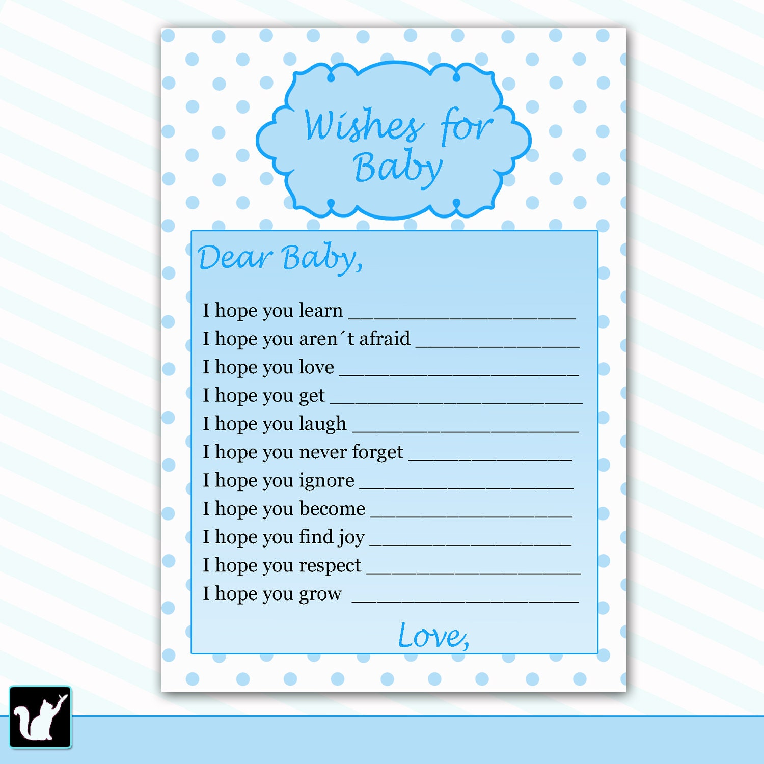 wishes for baby card new baby messages blue baby wishes