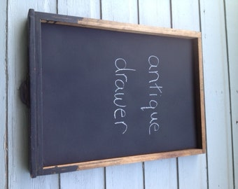 Antique Drawer Blackboard