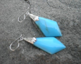 Sterling Turquoise Earrings