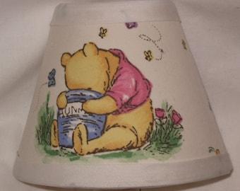 Winnie the Pooh Fabric Nursery Nightlight/Baby Gift