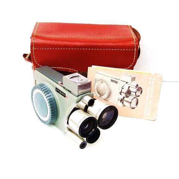 Vintage Movie Camera  8mm Movie  Old Movie Camera  Vintage Photography Equipment