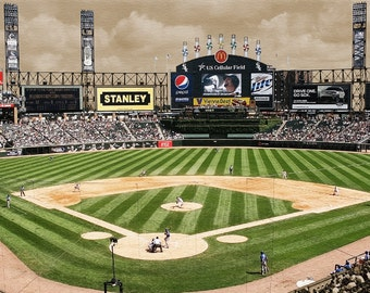 Chicago White Sox U.S. Cellular Field Gallery Wrap Canvas Art