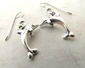 Dolphin Earrings, Porpoise Earrings, Beach Earrings, Ocean Earrings, Mermaid Earrings
