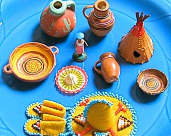 Take 20% Off Vintage Southwestern Miniature Collection