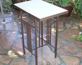 Hand Made Bistro Table Ready to Tile  -  Patio or Terrace Size