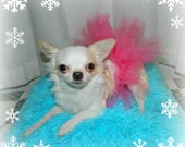 Pink Dog Tutu Dress for Xsmall  Dog 4 - 6 pounds