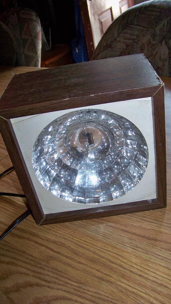 Vintage Retro Strobe Light Party Light - Unique Find - Works Great