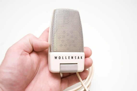 Little Screamer Eggshell White Hamonica Microphone with 1/4 inch output