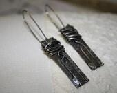 Tangled earrings