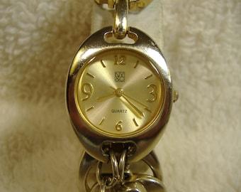 Vintage 1980s NY & C Quartz Watch