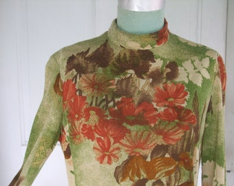 Autumn Floral Dress Soft Jersey
