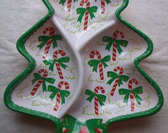 Nut Dish Cookie Tray Christmas