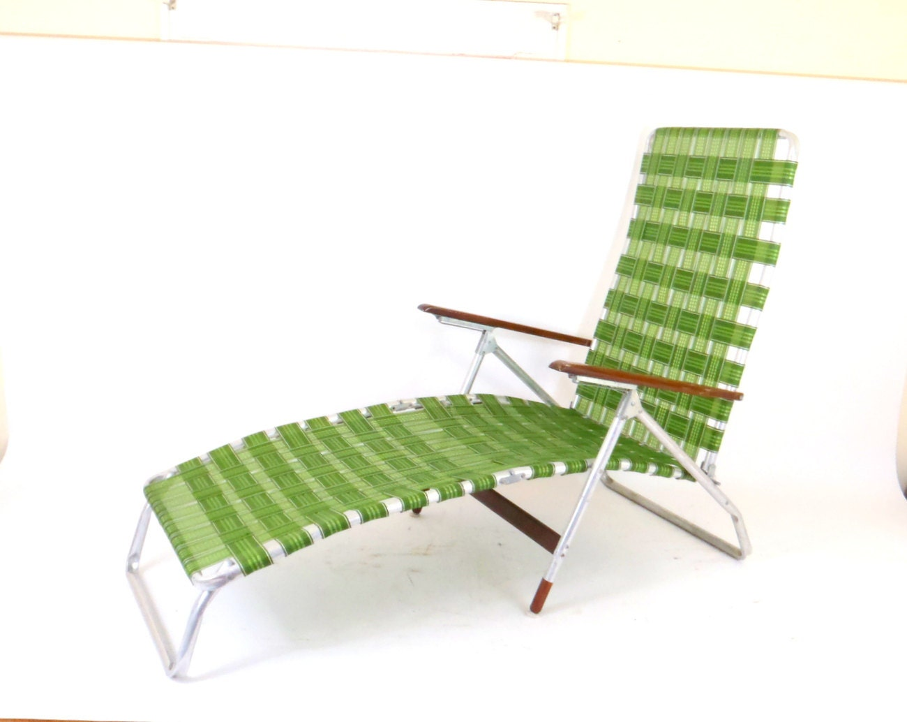 Aluminum lawn chair chaise lounge lawn chair webbing folding - Chaise aluminium jardin ...