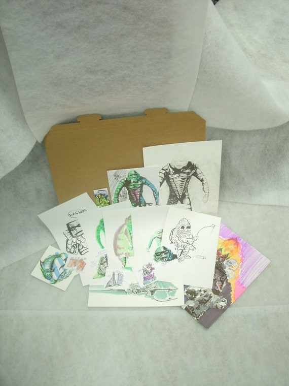 "Uber loaded preapocalyptic  ""JOE The Creature"" christmass pack - RESERVED for Alisha"