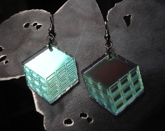 Optical Illusion Box/Cube in Radiant Acrylic