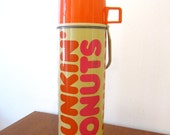 Dunkin' Donuts x Thermos Tumbler : vintage 1980