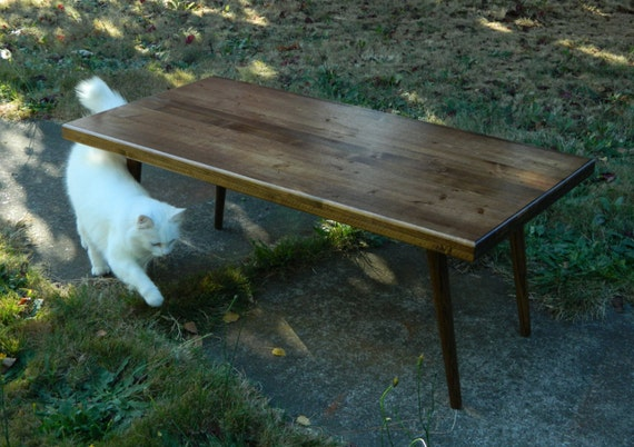 Mid Century Inspired Coffee Table