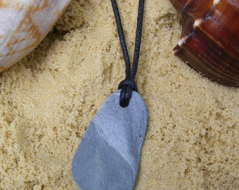 Necklace of Beach Slate