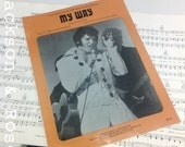 Vintage 1967 My Way Elvis Presley