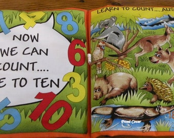 Childrens Learn to Count Cloth Book