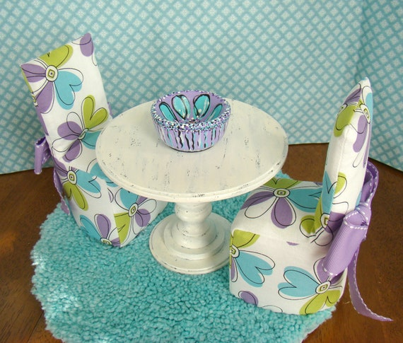 Barbie Furniture Dining Room Set with by DebsDollRoomDesigns : il570xN38729151548gh from www.etsy.com size 570 x 485 jpeg 92kB