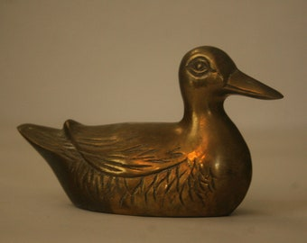 Brass Sitting Duck