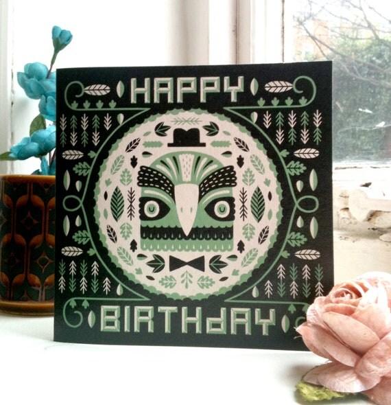 Noble Bird - Birthday Card