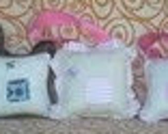 Little girl's toothfairy pillow