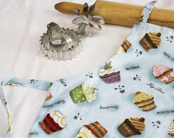 Cupcake Flavors of the Week Child Apron