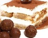 Tiramisu Milk Chocolate Truffles 5 Piece