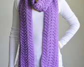 Lavender Lace Scarf - RESERVED