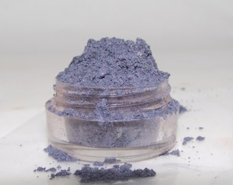 Mineral Eye Shadow Luxe Blue shimmery mica powder shadow 5 gram sifter